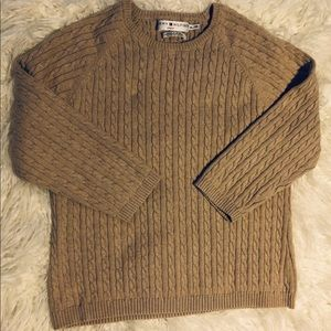 Tommy Hilifiger Co Kids Sz XL Pullover Sweater Tan